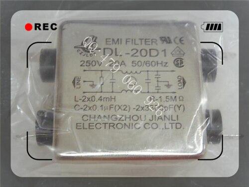 [ZOB] Jianli EMI power filter DL-20D1  --5PCS/LOT[ZOB] Jianli EMI power filter DL-20D1  --5PCS/LOT