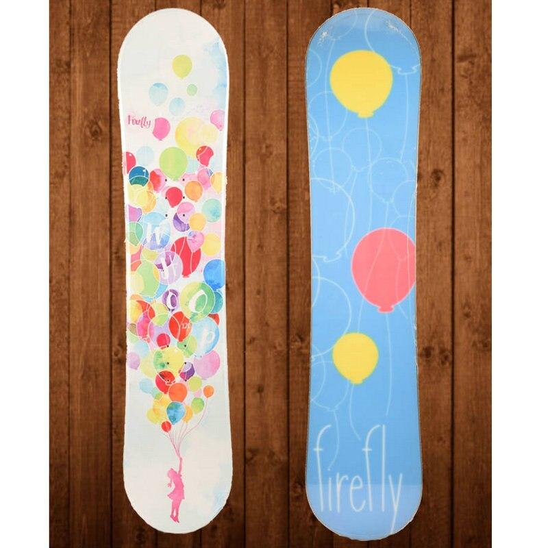 2017 hiver 120 cm snowboard deck enfant skis planche pont enfants ski 1 pièces planche simple pont professionnel enfant snowboard