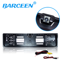 Reversing camera HD CCD EU European License plate universal rear view camera backup reverse back parking assistance system ccd track camera car directive parking assistance reversing trajectory back rear view camera for sony ccd nissan venucia r50 hd