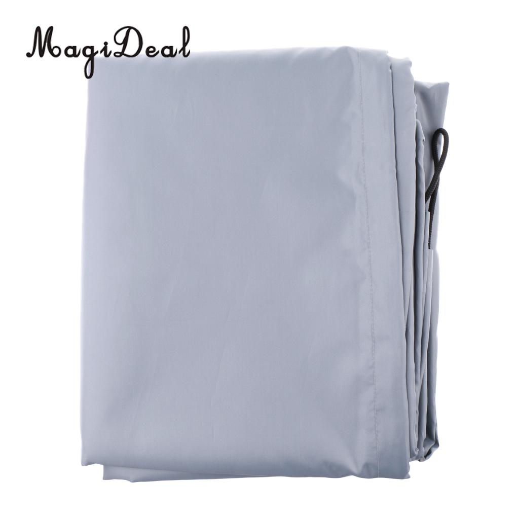 Imperméable à l'eau UV soleil Protection contre la poussière bateau gonflable canot couverture tendre stockage costumes jusqu'à 7.5-17ft-7 tailles disponibles - 6