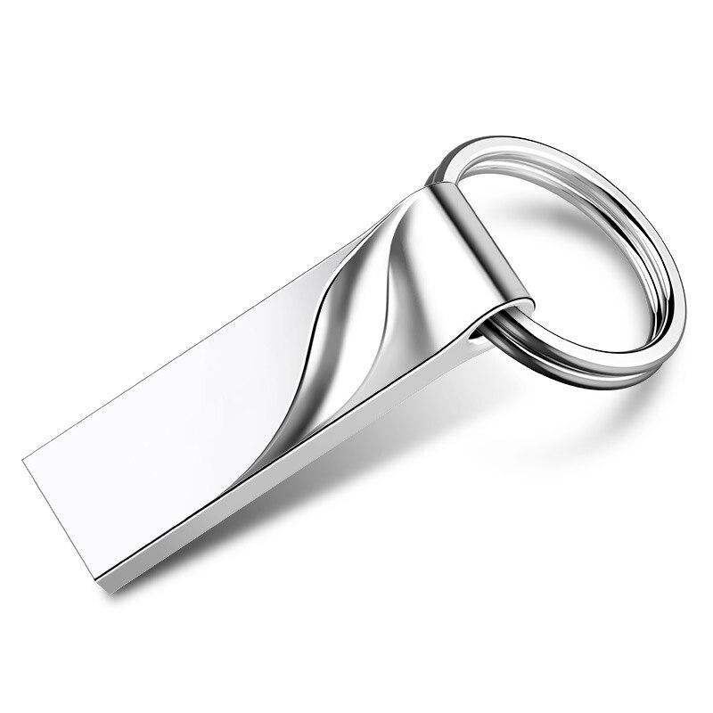 Wholesale Metal Pendrive 8gb 16gb 32gb Usb Flash Drive 64gb Custom Logo Usb Stick Mini Pen Drive 4gb Gift Disk On Key