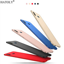 Cover Vivo Y17 Case Thin Hard PC Shell Bumper Funfas Protective Back Phone For for