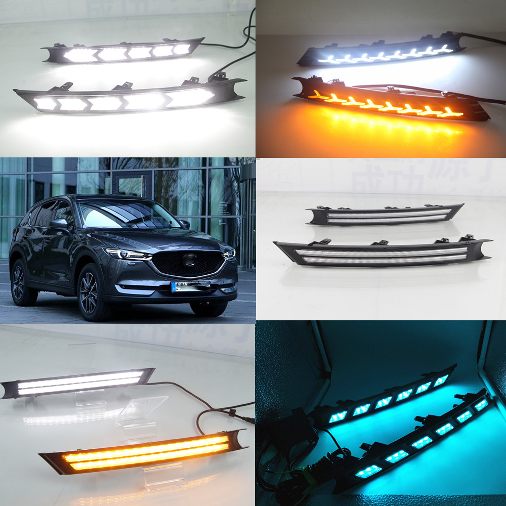 HOT SALE] 2PCS LED Daytime Running Light For Mazda CX 5 CX5