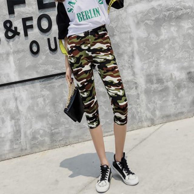 Fashion Women's Leggings Sexy Casual camouflage Leg Warmer Fit Moost Sizes Leggins Pants Trousers Woman's Leggings 4