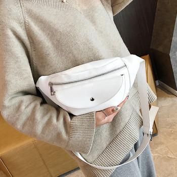 Torebka damska torebka damska torebka damska torebka damska prosta torba kieszonkowa uniwersalna torba na ramię torba borse da donna A50 tanie i dobre opinie Lecopike Waist Bags 0inch PU(PU) Stałe Japan style Poduszki WOMEN 28cm
