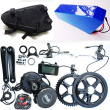 Bafang BBS02 48V 750W Ebike Electric bicycle mid drive electric bike conversion kit 48V 30Ah for