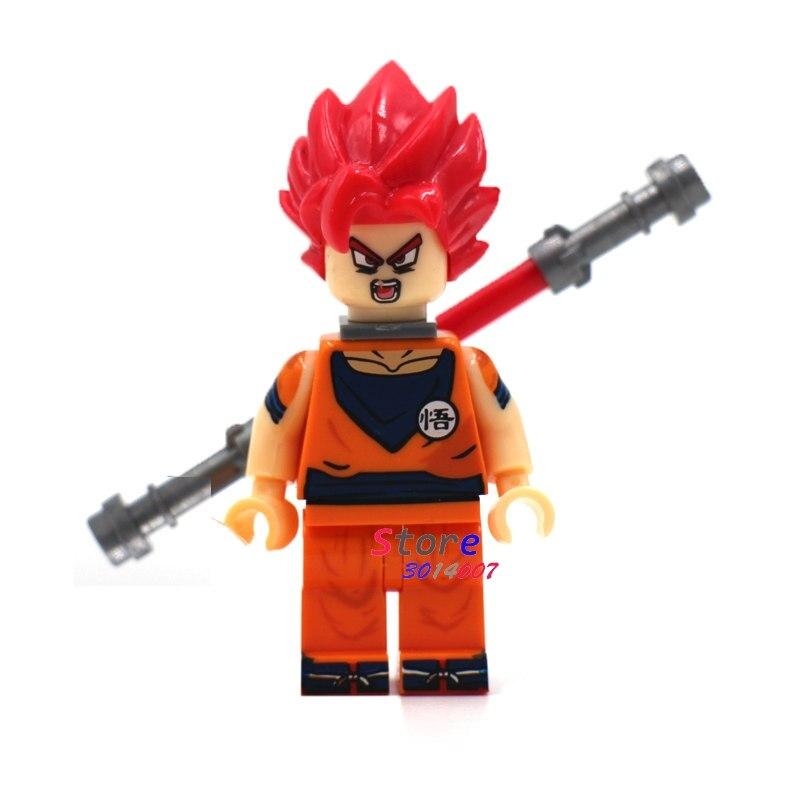 50pcs Super Saiyan God Dragon Ball Kakarotto Goku building blocks bricks friends for girl Gift children