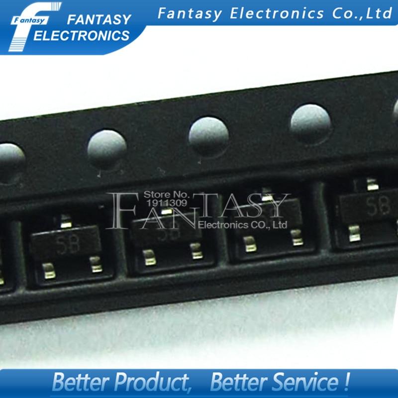 smd 5b - 100PCS BC807-25 SOT23 807-25 SOT SMD 5B new transistor