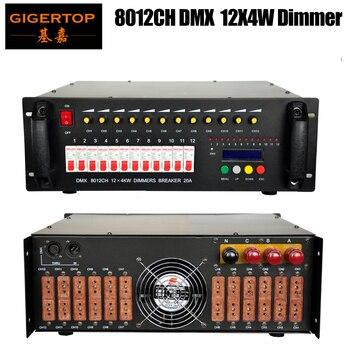 Regulador de 12 canales * 4KW DMX, controlador DMX 512, controlador de luz DMX de 1 año de garantía
