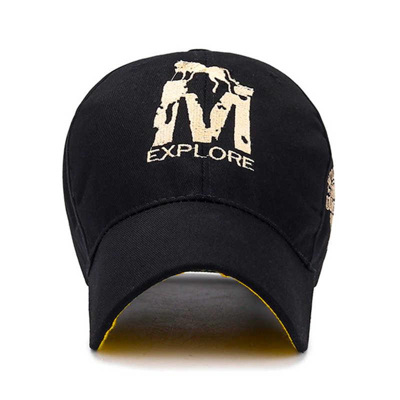 [NORTHWOOD] คุณภาพสูงหมาป่า M Letter เบสบอลหมวกสำหรับผู้ชายผู้หญิง Streetwear Dad หมวกฤดูร้อน Sun Visor Trucker หมวก Masculi