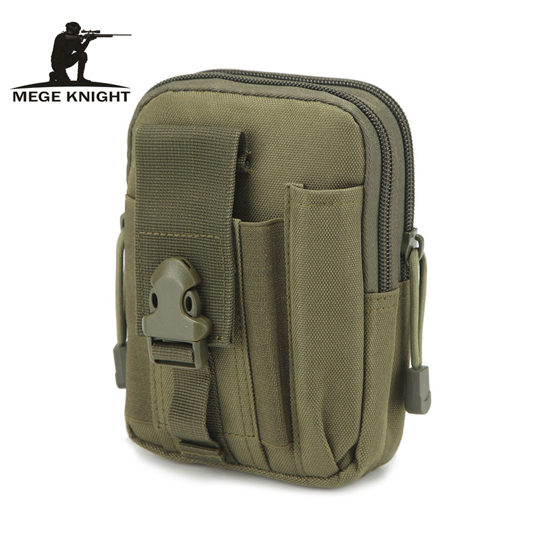 Mege Tactical Camouflage Waist Bag Small Pouch Molle System Military Army Mobile Bag Male Field Wallet EDC Bag Multifunction