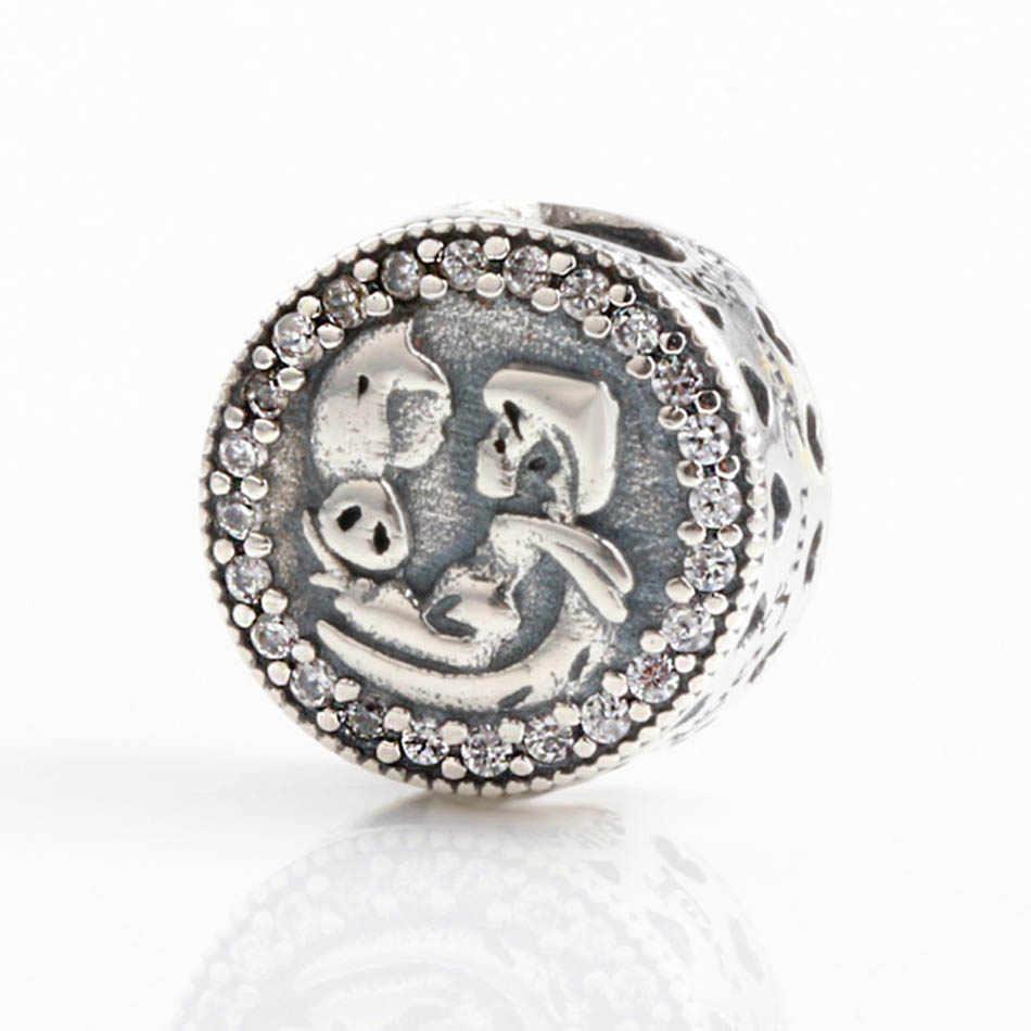 fd81903bb ... 30% Silver Bead Charm Limited Edition Snow White 80th Anniversary Beads  Fit Pandora Bracelet Bangle ...