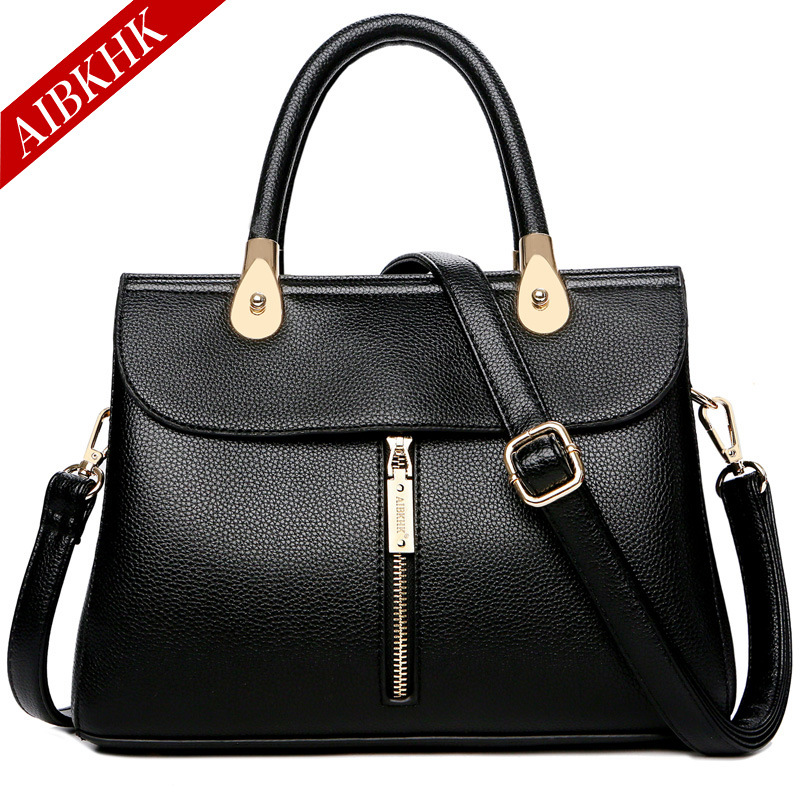 Famous Brands Cow Leather Handbags Ladie Fashion Designer Shoulder Messenger Bags for Women 2018 New Luxury Crossbody Bag Female цена