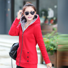 Women Fashion Autumn Winter Thicken Sports Cotton Coat ladies Solid Hooded Warm Jacket Outerwear female padded parka overcoat 2018 winter maternity hooded coat women thicken warm long jacket pregnancy cotton padded outerwear parka