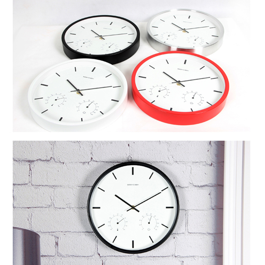 Creative Hanging Metal Wall Clock Modern Simply Decorations Living Room  Wanduhr Wall Mounted Clocks Wanduhren Home Decor 60A0849 In Wall Clocks  From Home ...