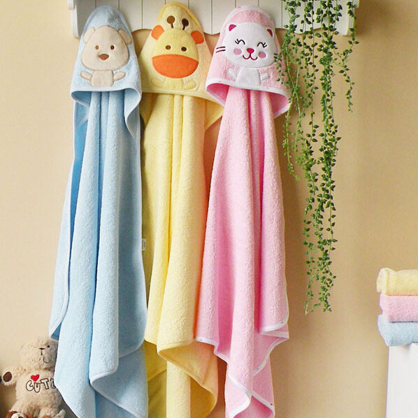 1 piece Baby Blanket/Newborn Hooded Blankets/Summer Fall Cartoon Characters Bathrobe/Air Conditioning Quilt/ Retail