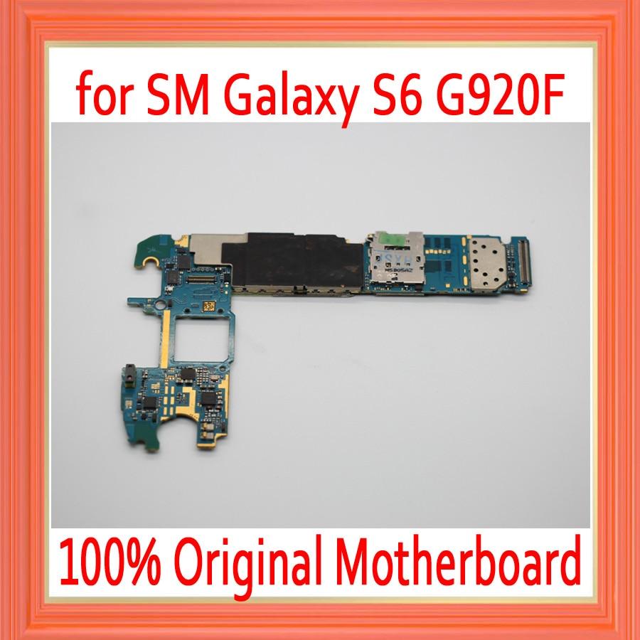 100% Original unlocked for Samsung Galaxy S6 G920F Motherboard,32gb for Galaxy S6 G920F Mainboard EU Version,Free Shipping100% Original unlocked for Samsung Galaxy S6 G920F Motherboard,32gb for Galaxy S6 G920F Mainboard EU Version,Free Shipping