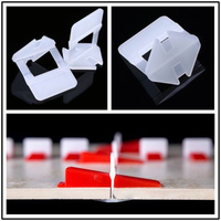 200 400 800Pcs Tile Leveling System Clips Wall Floor Tile Leveling Spacer For Tiling Tools