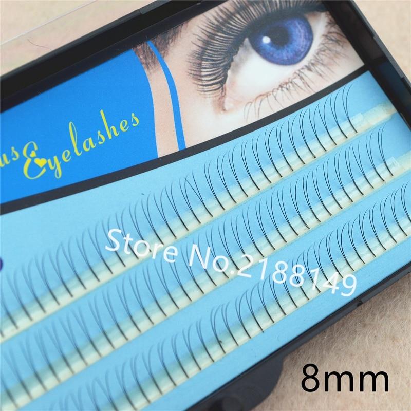 2018 Natural False Eyelash Individual Eyelashes Extension Artificial Fake False Eyelashes Makeup Tools 8/10/12mm GD244
