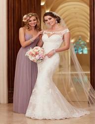 2017 lace wedding dress court train appliques mermaid wedding dresses elegant bride dresses wedding gowns vestido.jpg 250x250