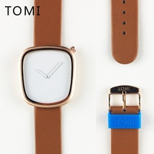 TOMI Brand New Simple Luxury Fashion Casual Male Men Elegant Female Clock Woman Lady Wrist Watches Dress Wristwatch Gift T003