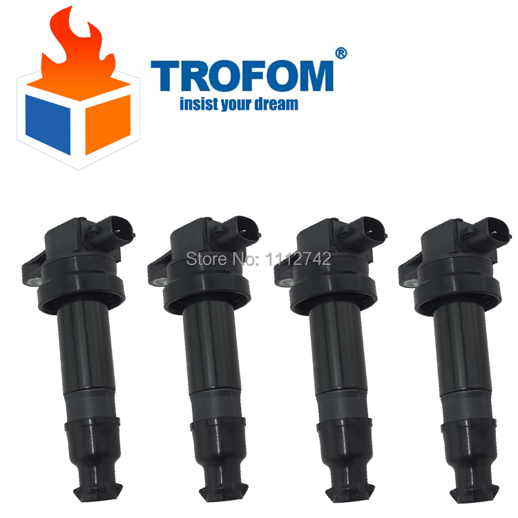 Ignition Coil For HYUNDAI i20 i30 IX20 KIA Carens Cerato Pro Cee'D Rio Soul Venga 1.4 1.6 27301-2B000 273012B000 0986221062