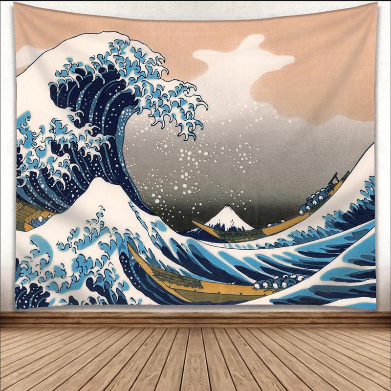 Popular Handicrafts Home Decor Beach Throw Japanese Tapestry Wall