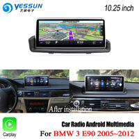 YESSUN For BMW 3 Series E90 2005~2012 Touch Screen Car Android Carplay Stereo Audio Player GPS maps map Navi Navigation No DVD