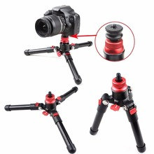 Common Three Legs Monopod Assist Stand Base Mini Tripod For Canon Nikon DSLR  Digital camera 1/four Three/eight Screw