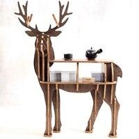 Новинка! High end S размер lookback олень стол деревянная мебель для дома! Мебель для самостоятельной сборки