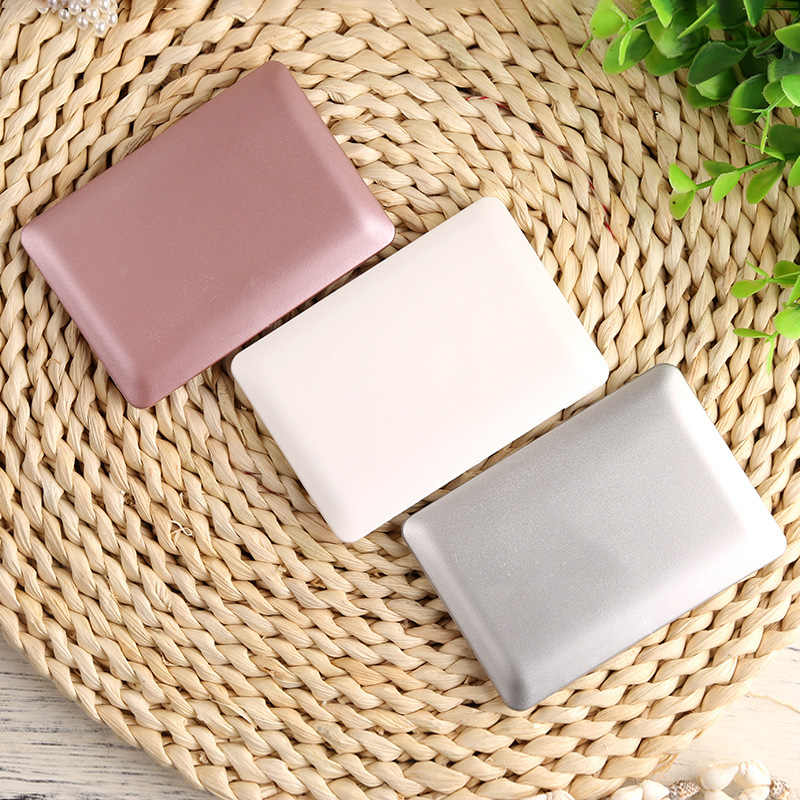 Mini Pocket Laptop Style Makeup Mirror Clear Glass Women Cosmetic Beauty Tool Portable Fashion Notebook Form Makeup Mirror Book