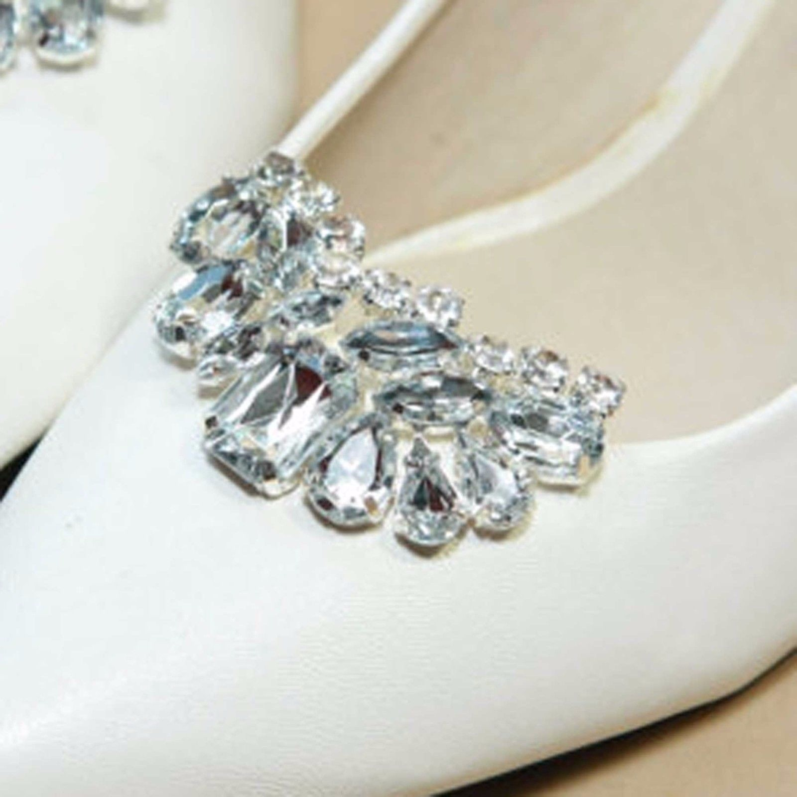 Online buy wholesale crystal shoe clips from china crystal for Decoration clips