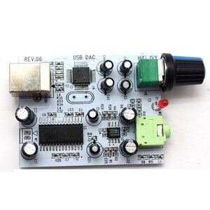 Image 2 - Lusya placa de áudio cm108 + tda1305t + tda1308, iis/i2s para 3.5mm, saída usb amp usb dac decodificador a1 009