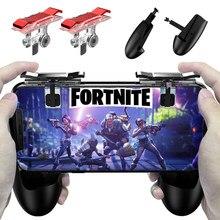 Mando de juegos para teléfono inteligente, Mango para cuchillos, reglas de supervivencia, PUBG, botón de disparo L1R1, gatillo para juegos