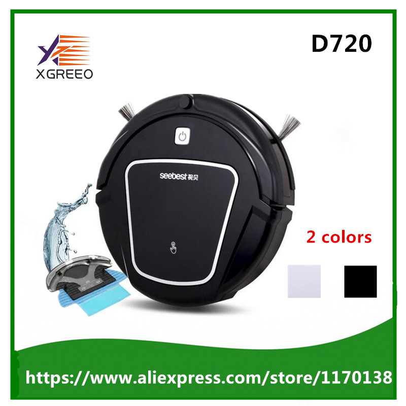 Seebest D720 Dry Automatic Rechargeable Cheap Robot Vacuum Clean with two side brush,Edge Clean Time Schedule seebest d750 turing 1 0 dry and wet mop robot vacuum cleanerwith water tank and gps navigator planned clean route clean robot