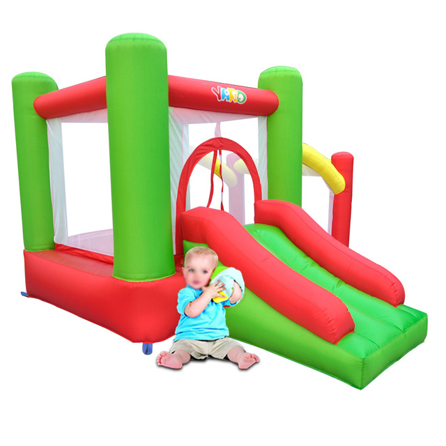 YARD Free Shipping For Most Country MIni Inflatable Bouncer with Blower Funny Air Toy Colorful Bouncy Pool Combo For Home Use