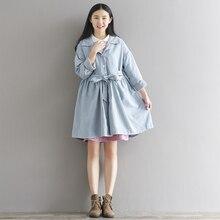 Woman Ladies Elegant Casual Loose A Line Dress Long Sleeve Polo Neck Outwear Short Mini Dresses