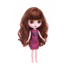 New Dress For Blyth Doll Clothes Christmas Gift toy dress for blyth doll 1/6 30cm doll lovely dress for blyth doll clothes christmas gift toy dress for blyth doll 1 6 30cm doll