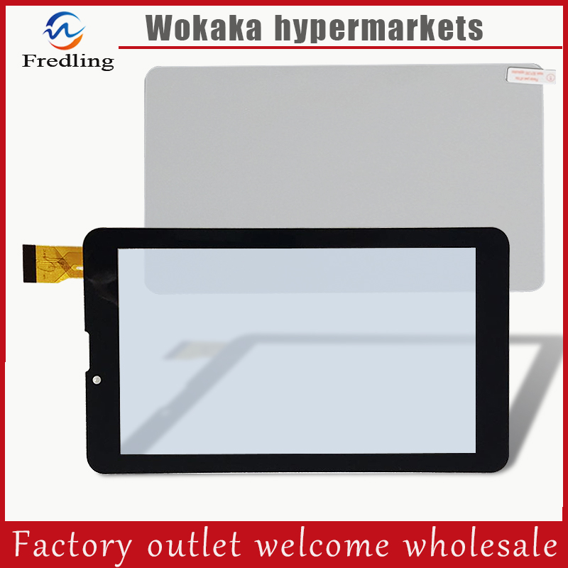 New Touch screen Digitizer 7 inch Explay Tornado 3G Tablet Outer Touch panel Glass Sensor Tempered glass screen Protector film 10pcs lot new touch screen digitizer 7 inch explay hit 3g tablet outer touch panel glass sensor replacement freeshipping