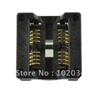 100% NEW SOP2x8 1.27mm SOP20  IC Test Socket / Programmer Adapter / Burn-in Socket(OTS-20(2x8)-1.27-01) white flower girls dresses for wedding gowns lace girl birthday party dress tulle pageant dress long mother daughter dresses