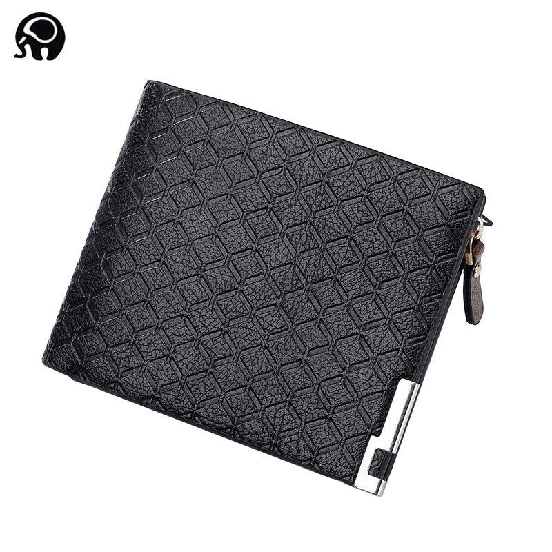 2018 Genuine Leather Men Wallets Short Coin Purse Small Vintage Wallet Cowhide Leather Card Holder Pocket Purse Men Wallets williampolo mens mini wallet black purse card holder genuine leather slim wallet men small purse short bifold cowhide 2 fold bag