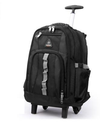 Bolsa de equipaje de viaje con ruedas para hombre, mochila de viaje con ruedas para cabina de negocios-in Bolsas de viaje from Maletas y bolsas    1