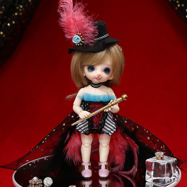 Fairyland Pukifee Dony 1/8 BJD Resin Body model  Female Girls Dolls Human Version and Fantasy Version Fullset make up
