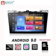 EKIY IPS Android 9.0 4G + 32G Octa Core 2din Auto Autoradio Per Mazda 6 Ruiyi 2008- 2012 Stereo di Navigazione GPS Per Auto Lettore Multimediale