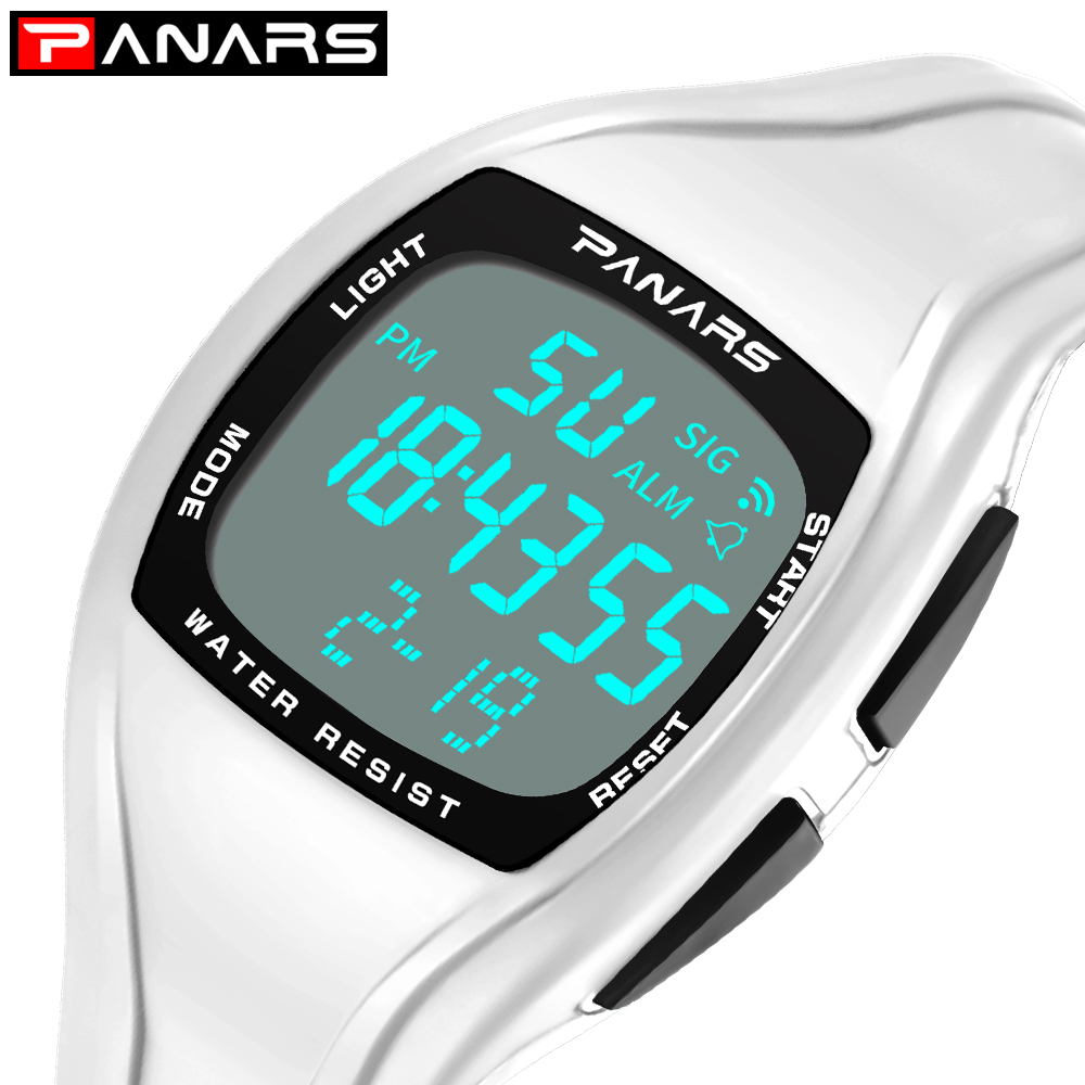 Square Relogio Feminino Digital Watch Women Men Sports Watch 50M Waterproof Led Electronic Rubber Plastic Watch Clock Wristwatch