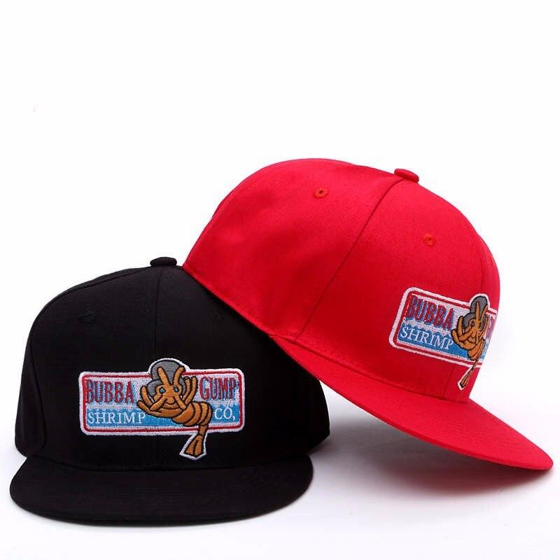 1994 Bubba Gump Cap Shrimp Co Snapback Cap Men Women Sport Summer