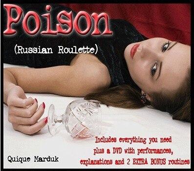 Poison Quique Marduk (Gimmick + DVD)-astuce, livraison gratuite, tour de magie de feu jouets classiques