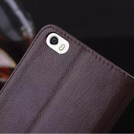 imágenes para DEEVOLPO 100% Verdadera Del Cuero Genuino Para Huawei Honor 6 Flip Moda de Lujo Diseño Stands Cubierta Ventana de Visualización Para Honor6
