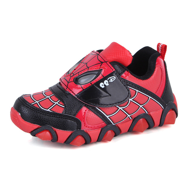 save off 3779a e1867 Größe 26 36 Kinder Turnschuhe kinder spidermans Sportschuhe Jungen/Mädchen  Schuhe Kinder Schuhe in Größe 26-36 Kinder Turnschuhe kinder ...