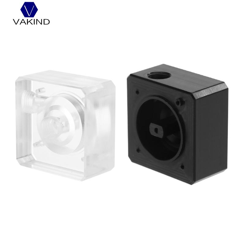 VAKIND SC600 Computer Water Cooling Pump With 4 Top Cover G1/4 Inlet And Outlet Thread Screws 5.2*5.2*2.7cm кабель цифровой аудио видео belkin hdmi п hdmi п 18 гбит с 1м hdmi0018g 1m